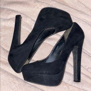 Charlotte Russe Black Heel